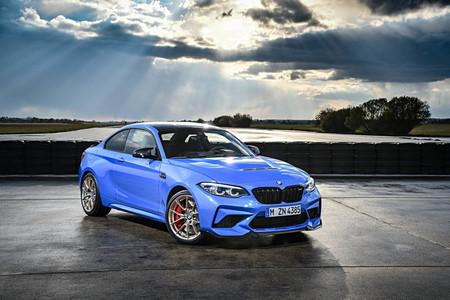 Esta bestia es el nuevo BMW M2 CS: un deportivo de 450 CV, cambio manual y tracción trasera