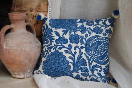 accesorios del hogar azules para el verano