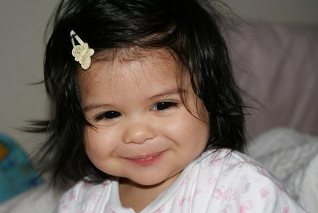 La foto de tu bebé: la sonrisa de Emily