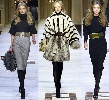 Fendi en la Semana de la Moda de Milán Otoño/Invierno 2007/08
