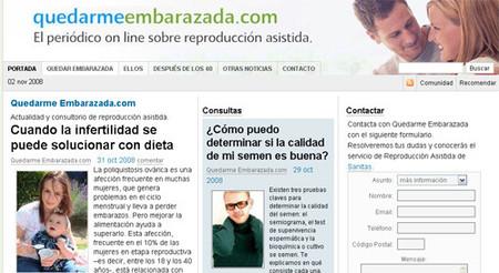Quedarme Embarazada.com, periódico online para las parejas con problemas de fertilidad