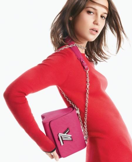 Alicia Vikander Louis Vuitton Twist Campana Primavera Verano 2016 1