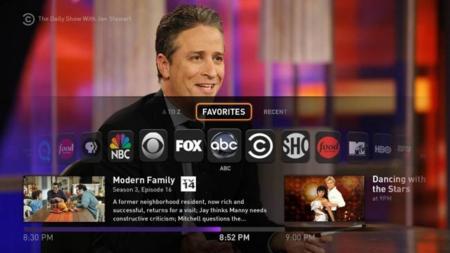 FAn TV interfaz