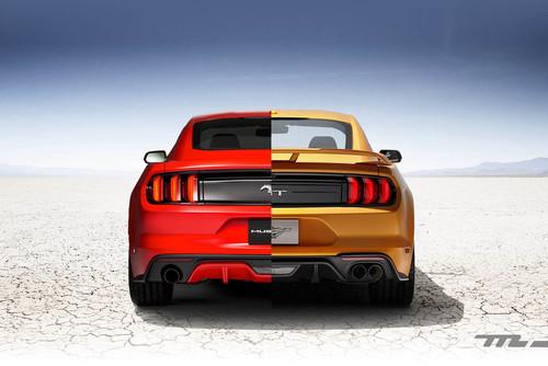 Las 14 modificaciones del Ford Mustang 2018 de un solo vistazo