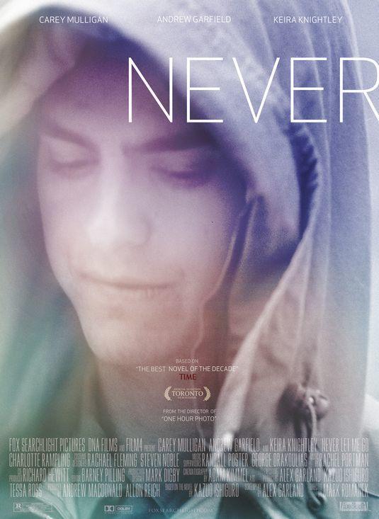 'Never Let Me Go' ('Nunca me abandones'), carteles