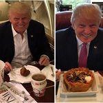 Esta es la dieta del presidente Donald Trump que fomenta el consumo de comida chatarra en la sociedad (y que no es saludable)