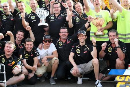 Kimi Raikkonen y Romain Grosjean se mantendrán en Lotus