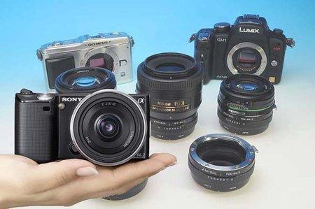 Rayqual prepara adaptadores de casi todas las marcas para las Sony NEX