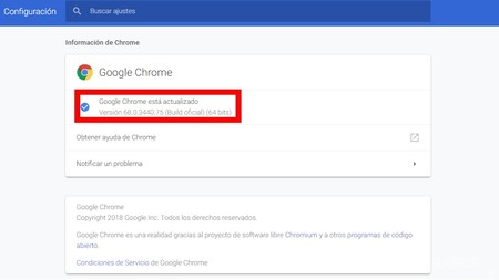 Version De Chrome