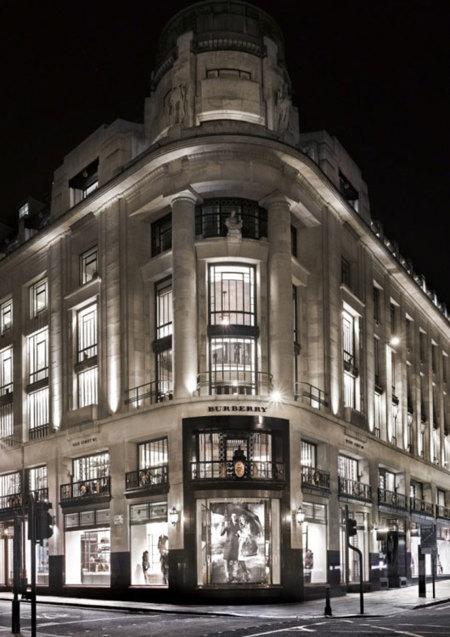 Tienda de Burberry en Londres