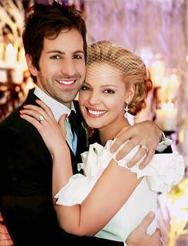 La boda de ensueño de Katherine Heigl
