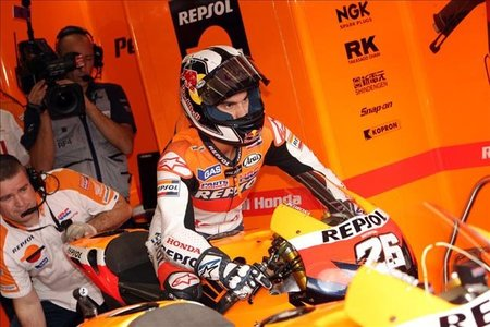 MotoGP Japón 2010: Parte médico de Dani Pedrosa