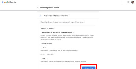 Crear Archivo Google Drive