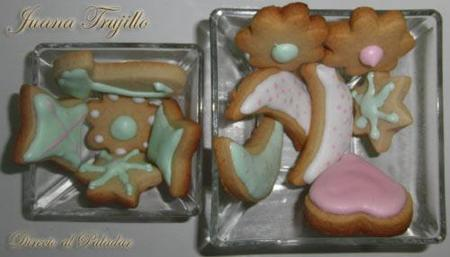 Galletas decoradas. Receta