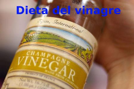 Dieta del vinagre. Análisis de dietas milagro (XXVI)