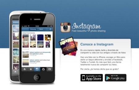 Instagram mejora la página web de visionado de fotos en dispositivos móviles