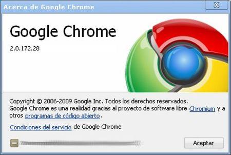 Nuevo Google Chrome 2.0: otro navegador es posible