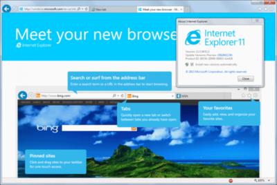 Según NetApplications, Internet Explorer 11 sigue siendo el navegador más usado