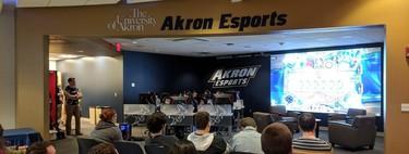 La Universidad de Akron inaugura sus instalaciones de esports de 750.000 dólares