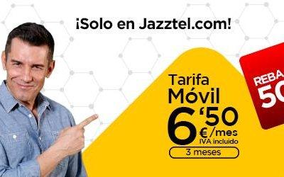 Jazztel mejora su producto estrella, el Pack Ahorro, con más datos para el móvil gratis