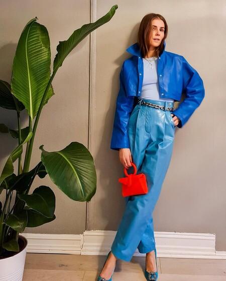 Pantalones Turquesa Combinacion 02