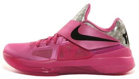 Nike Zoom KD IV en rosa y perla