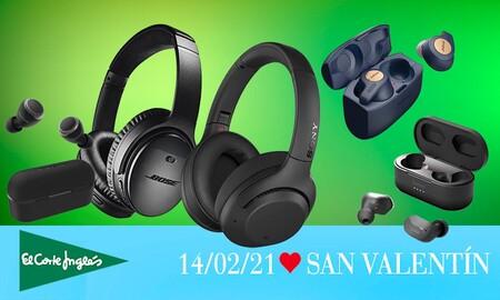 Regalar unos auriculares este San Valentín te saldrá más barato con estas ofertas de El Corte Inglés