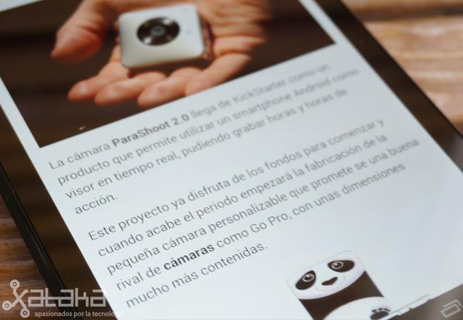 Nexus 7 Pantalla