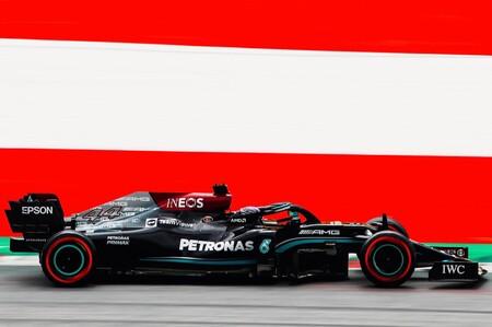 Lewis Hamilton lidera un doblete para subir la moral de Mercedes en el Red Bull Ring