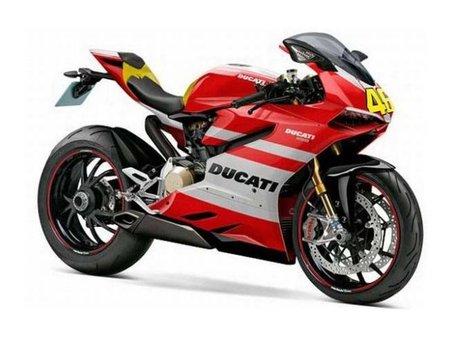 Ducati 1199, Extreme o Superquadrata pero con los colores de Rossi
