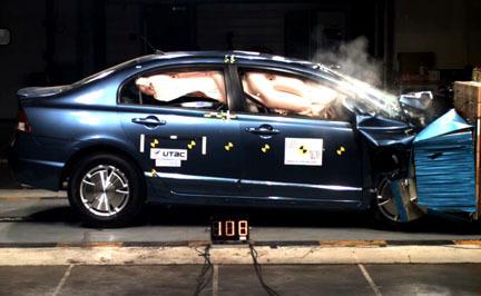 Honda Civic Hybrid - EuroNCAP