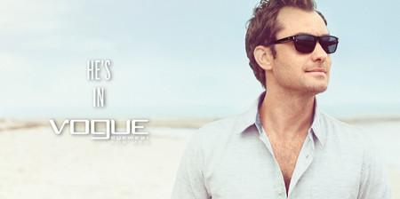 Jude Law para vogue eyewear 2013