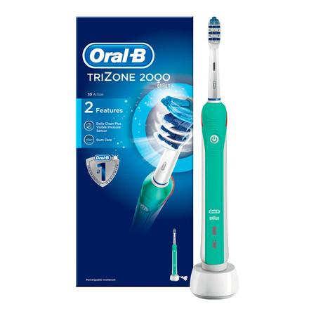 El cepillo de dientes eléctrico recargable Oral-B TriZone 2000 está rebajado a 53,04 euros en Amazon