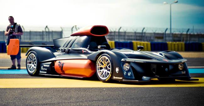 GreenGT H2 Le Mans coche de hidrógeno