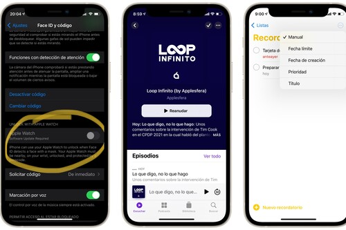 Aún más novedades en iOS 14.5: rediseño en la app Podcasts, novedades en Recordatorios, buscador de Emoji y mucho más