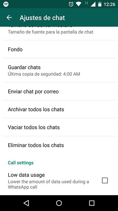 Whatsapp Low Cost