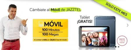 Jazztel añade una tablet a su oferta de terminales gratis al contratar tarifas convergente