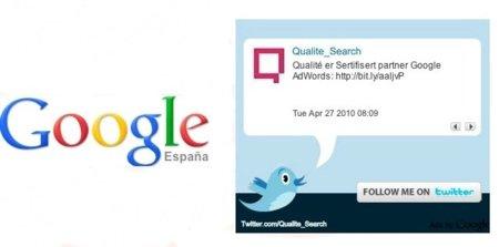 Google ofrece ahora publicitarse a través de los Twitter Ads