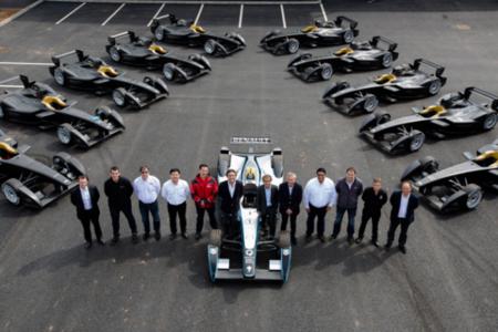 La Fórmula E entrega los primeros 10 monoplazas