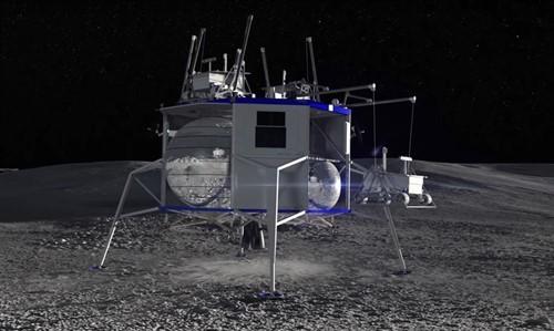El polo sur de la Luna recibirá esta nave de Blue Origin que ahora puedes ver en vídeo