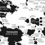 ¿Cuántas reservas de petróleo conocidas tiene cada país del mundo? Este mapa lo explica