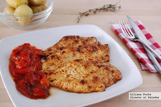 Recetas de tiras picantes de pechuga de pollo Qu Recetas