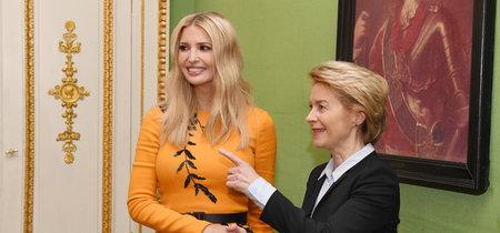 Ivanka Trump apuesta por un vistoso vestido que podría ser tuyo por muchísimo menos