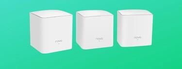 Monta tu sistema WiFi Mesh y cubre hasta 300 metros cuadrados a precio irresistible con el pack de 3 Tenda Nova a 62 euros en Amazon [AGOTADO]