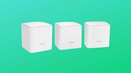 Monta tu sistema WiFi Mesh y cubre hasta 300 metros cuadrados a precio irresistible con el pack de 3 Tenda Nova a 62 euros en Amazon