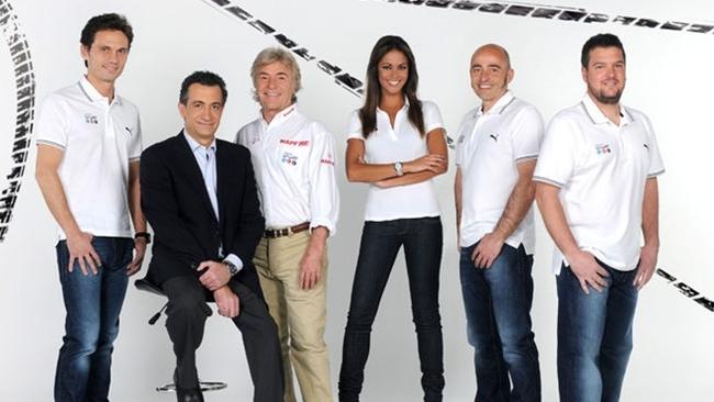 Equipo Mediaset Sport para la temporada 2012