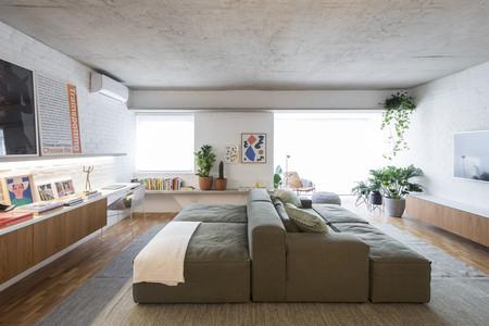 Un piso de 100 m2 en San Paolo con una gran zona de estar que se adapta a los distintos usos y situaciones