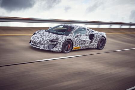 El futuro McLaren híbrido enchufable ya está rodando, y luce espectacular incluso camuflado