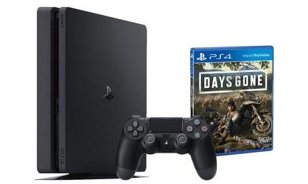 También en la versión más básica: en el Super Weekend de eBay tienes la PS4 Slim de 500 GB con Days Gone por sólo 309,95 euros