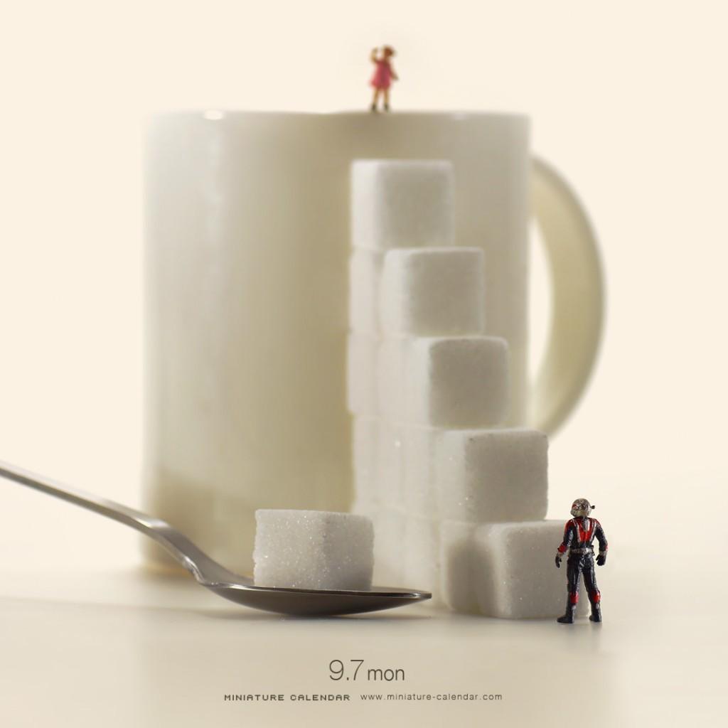 Foto de Miniature Calendar (2/10)